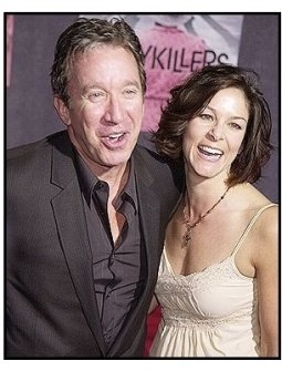"""Tim Allen and Janie Hajduk at """"The Ladykillers"""" premiere"""
