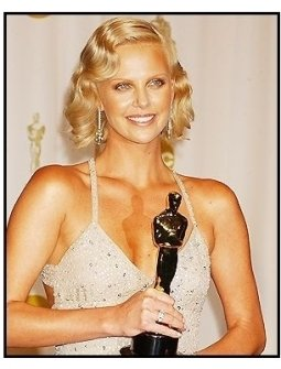 76th Annual Academy Awards - Charlize Theron - Backstage