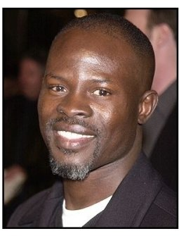 """Djimon Hounsou at the """"Against the Ropes"""" Premiere"""