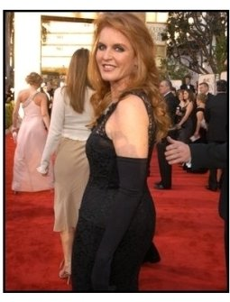 61st Annual Golden Globe Awards--Red Carpet--Sarah Ferguson--HFPA--ONE TIME USE ONLY