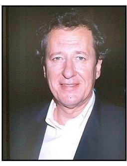 "Geoffrey Rush at the ""Intolerable Cruelty"" premiere"