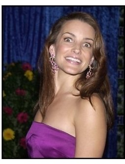 Kristin Davis at the HBO party following the 55th Annual Primetime Emmy Awards