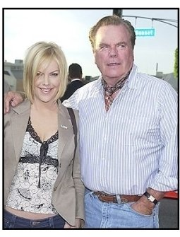 """Robert and Katie Wagner at the """"Open Range"""" premiere"""