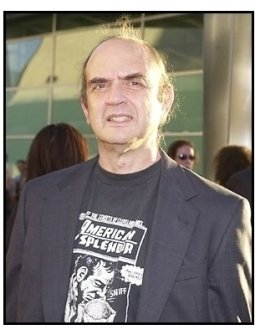 "Harvey Pekar at the ""American Splendor"" premiere"