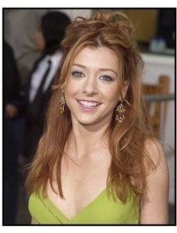 "Alyson Hannigan at the ""American Wedding"" premiere"