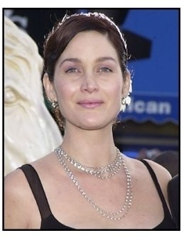 "Carrie-Anne Moss at ""The Matrix Reloaded"" premiere"