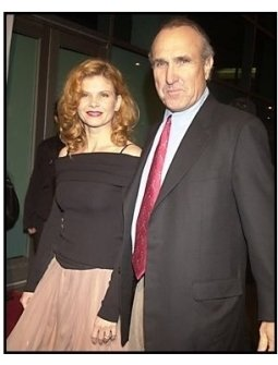 "Lolita Davidovich and director Ron Shelton at the ""Dark Blue"" premiere"