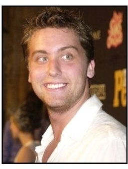 Teen People Magazine Party: Lance Bass