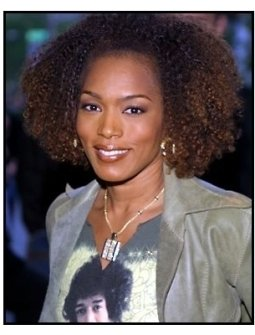 Angela Bassett at the Enough premiere