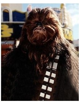 Chewbacca at the Star Wars: Episode IV -- A New Hope premiere