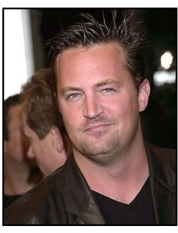 Matthew Perry at the Bandits premiere