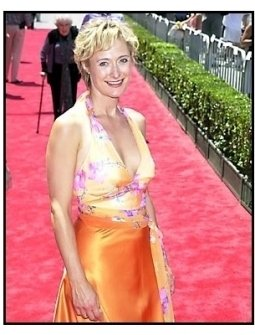 Caroline Goodall at The Princess Diaries premiere