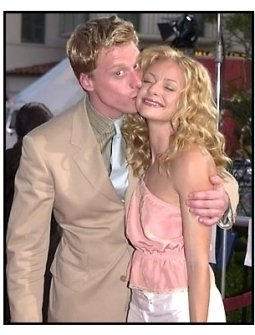 Alan Tudyk and Jessica Cauffiel at the A Knight's Tale premiere