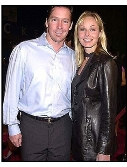 DB Sweeney and date at the Tomcats premiere
