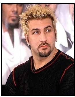 Joey Fatone at the 'N Sync-MSN Press Conference