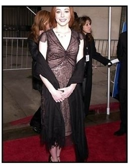 Alyson Hannigan at the 2001 TV Guide Awards