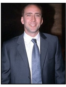 Nicolas Cage at the Shadow of the Vampire premiere