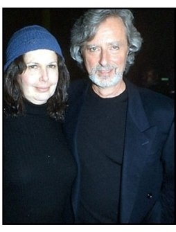 Philip Kaufman and wife at the Quills premiere