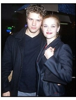 Ryan Phillippe and Reese Witherspoon at the Antitrust premiere