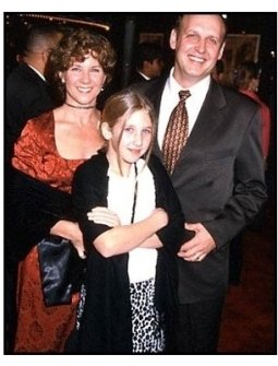 Nick Searcy and family at the Cast Away premiere