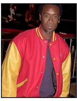 Don Cheadle at the 15 Minutes premiere