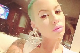 Amber Rose, Instagram