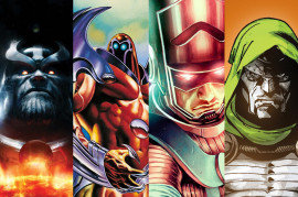 Thanos, Onslaught, Galactus, Doctor Doom