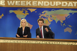 Amy Poehler, Seth Meyers, Weekend Update