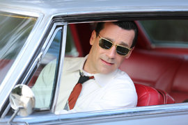 Jon Hamm, Mad Men