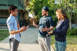 Neighbors, Zac Efron, Seth Rogen and Rose Byrne
