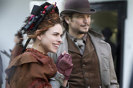 Penny Dreadful, Josh Hartnett and Billie Piper