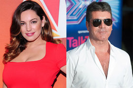 Kelly Brook, Simon Cowell