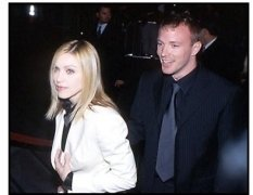 Guy Ritchie and Madonna at the Snatch premiere