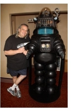 Fred Barton and Robby The Robot