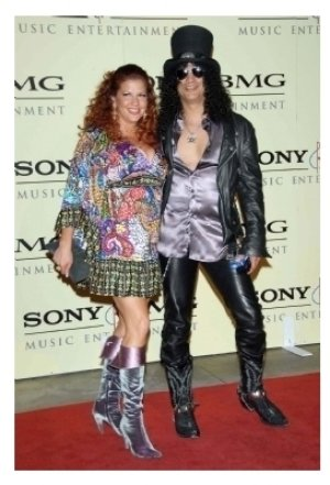 Slash and wife Perla