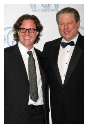 Davis Guggenheim and Al Gore