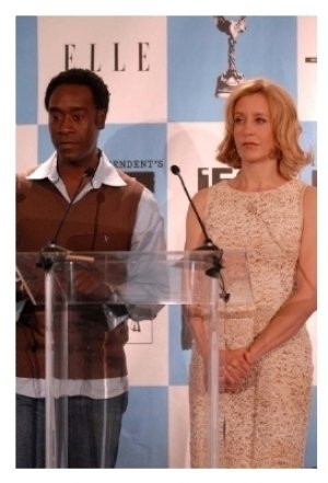 Don Cheadle and Felicity Huffman