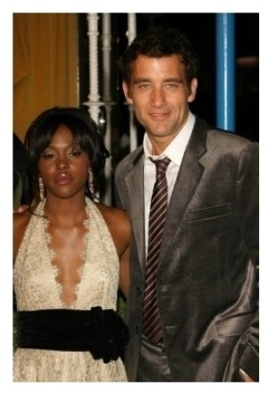 Clare-Hope Ashitey and Clive Owen