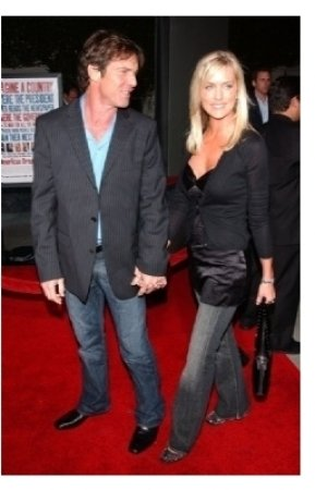 Dennis Quaid and wife Kimberly