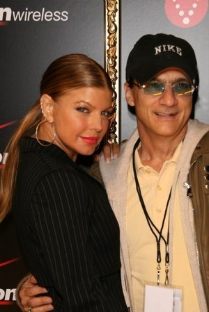 Fergie and Jimmy Iovine