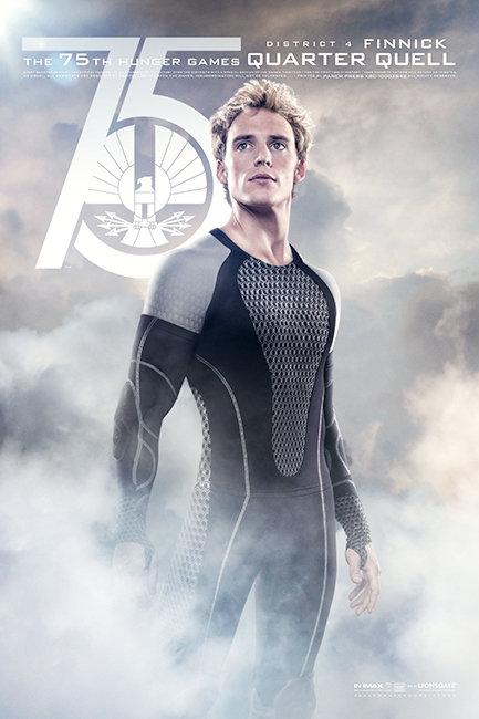 Hunger Games: Catching Fire Poster Finnick