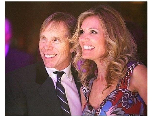 Tommy Hilfiger and Lynn Palmer