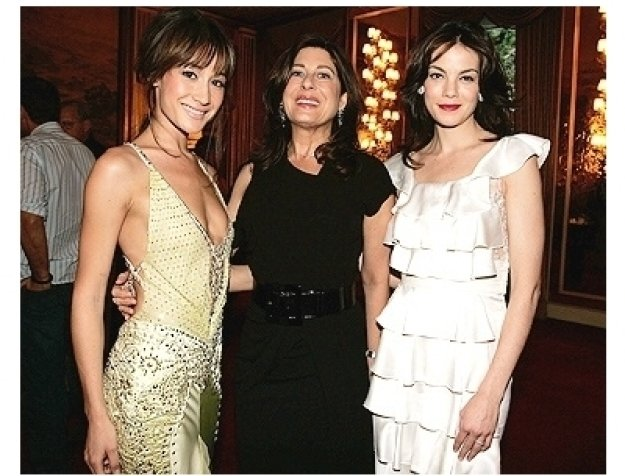 Maggie Q, Producer Paula Wagner and Michelle Monaghan at the Rome Premiere of  Mission: Impossible III
