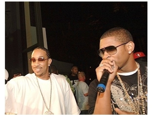 Maxim 100th Issue Party Photos:  Ludacris and Usher