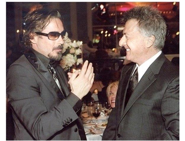 Snowflake Ball Photos: Robert Downey Jr. and Dustin Hoffman