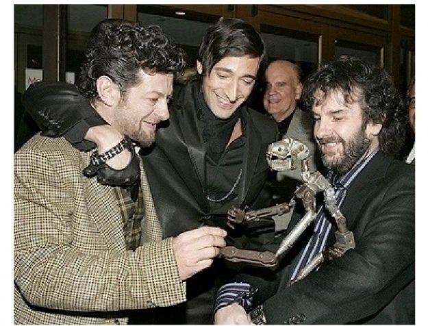 King Kong Premiere Photos: Andy Serkis, Adrien Brody and Peter Jackson