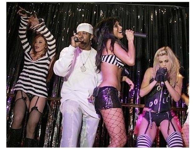 Pussycat Dolls at Caesar's: Busta Rhymes