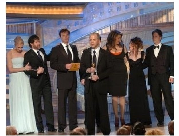 Cast of Nip/Tuck at the 62nd Golden Globe Awards