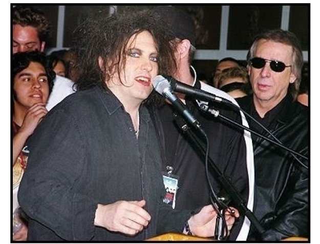 """""""The Cure"""" Inducted Into Hollywood's Rockwalk"""