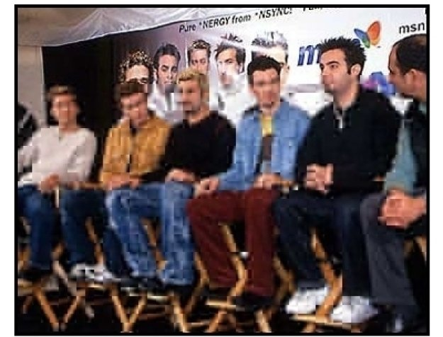 'N Sync at the 'N Sync-MSN Press Conference